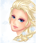 Frozen- Elsa by Taengm6
