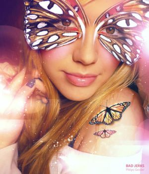 Butterfly Girl by creativephlips
