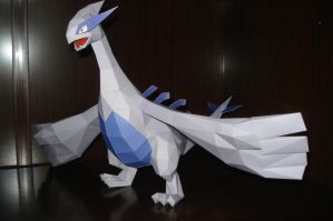 Lugia papercraft by Carnilmo