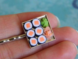 Sushi Hair Pin by CharmingLittleFox