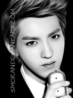 Kris phone drawing by SMoran