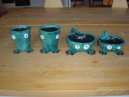 Monster mugs by Ulltotten