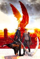 Breaking Dawn: The Nephilim Brothers by MayaRokuaya
