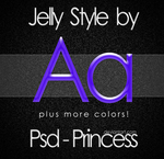 Photoshop Jelly Style by Psd-Princess