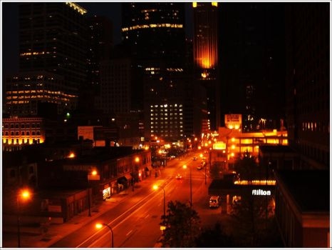 The City At Night... by hwtn