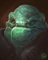 Portait of a Reptile by Amphitaman