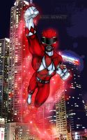 Mmpr Red Ranger Teleport by blueliberty