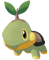 50 Pokemon #17-Turtwig by MegBeth