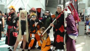 Cosplays from Naruto Shippuden at AX 2013 by trivto