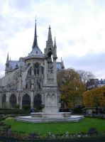 542 - Notre Dame Cathedral by WolfC-Stock