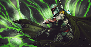 Star Wars Boba Fett by DarkRed21