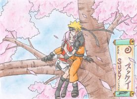 narusaku by cloudywolf