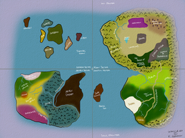 WORLD MAP by InfractusFatality