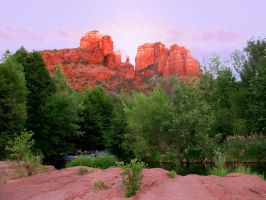 Cathedral Rock Sedona by aura2000