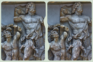 Pergamon Museum Berlin II ::: HDR Cross-View 3D by zour