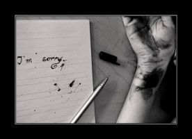 I'm sorry by ArtFreakThea