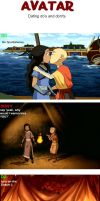 Avatar: dating do's and don'ts by becausepandas