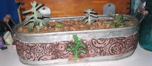Succulent Planter by sneakyfetusprod
