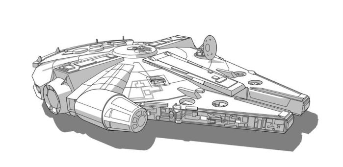 SW Vehicle - Millennium Falcon by Obhan