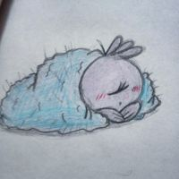 My Sleepy Angel by CNPika