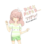 Rock paper.. Tsundere.? by bluesyrupbunny