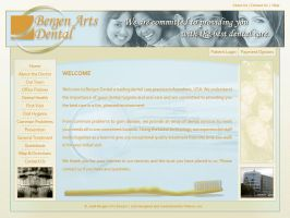 Bergen Arts Dental - site 2 by xloganx