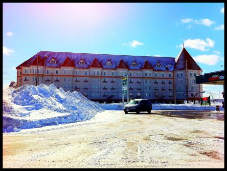 Chateau Moncton by Greyle13