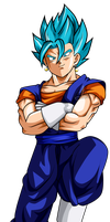 vegetto ssj blue v4 by jaredsongohan