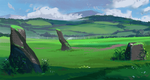 Study 6: greens by AppleSin