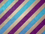 Large Stripe: Plum and Teal by R2krw9