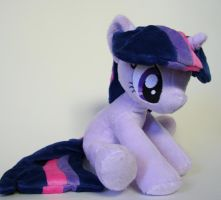Sitting Twilight Sparkle by Yukamina-Plushies