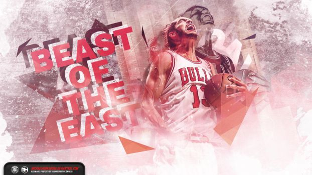 Joakim Noah Beast of the East wallpaper by michaelherradura