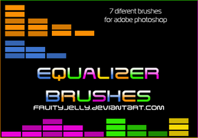 Equalizer photoshop brushes by fruityjelly