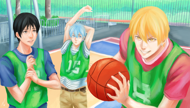 KnB: Screencap Redraw by Morisaurus