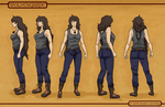 Maia Hayden Character Sheet by ShesscaMayWiver