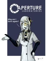 GLaDOS? :spoilers: by Vanzza