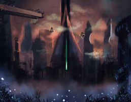 City Grayskull 1 by knighthead