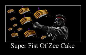 Super Fist Of Zee Cake by ignika24