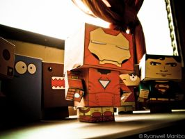 Iron Man Danbo by ryanwell