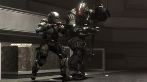 ODST and Stalker 1 by NakedCrook