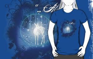 Silver Doe - new Shirtgraphic by Scatharis