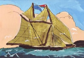 A Caravel Sails by themanfromhyrule