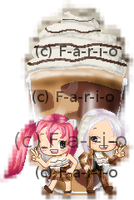 Syo and Angie Go Bonkers for Nutella at Carvel ~ by Fario-P
