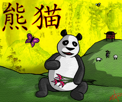 Panda Panda Fan Art by JackAbsinth