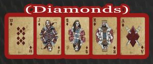 Haunted Cards - Diamonds by DickStarr