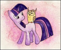 Twilight and Owlowiscious by Rattengoettin