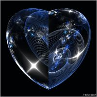 Spherical Heart by Brigitte-Fredensborg