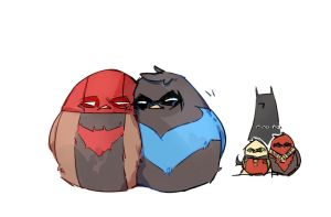 Robins by DeadIcefish
