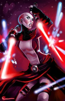 Asajj Ventress by jFury