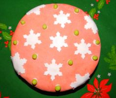 Christmas Cake 2014 by Wilhelmine